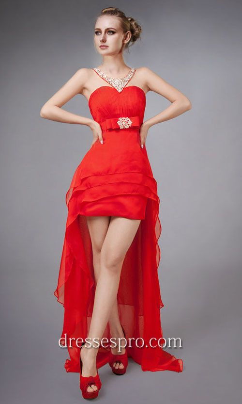 Teen Red Dresses