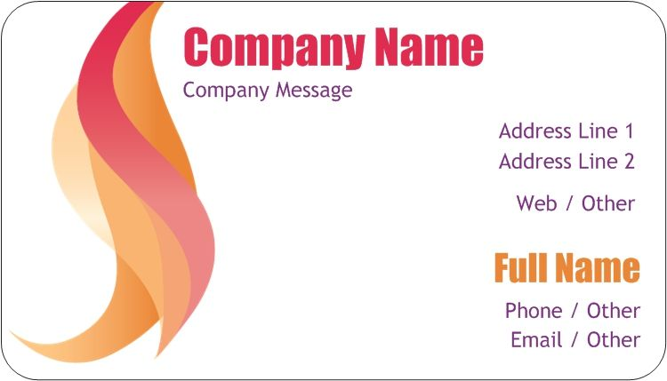 Rounded Corner Business Cards How To Memorize Things Round Business Cards Free Business Cards