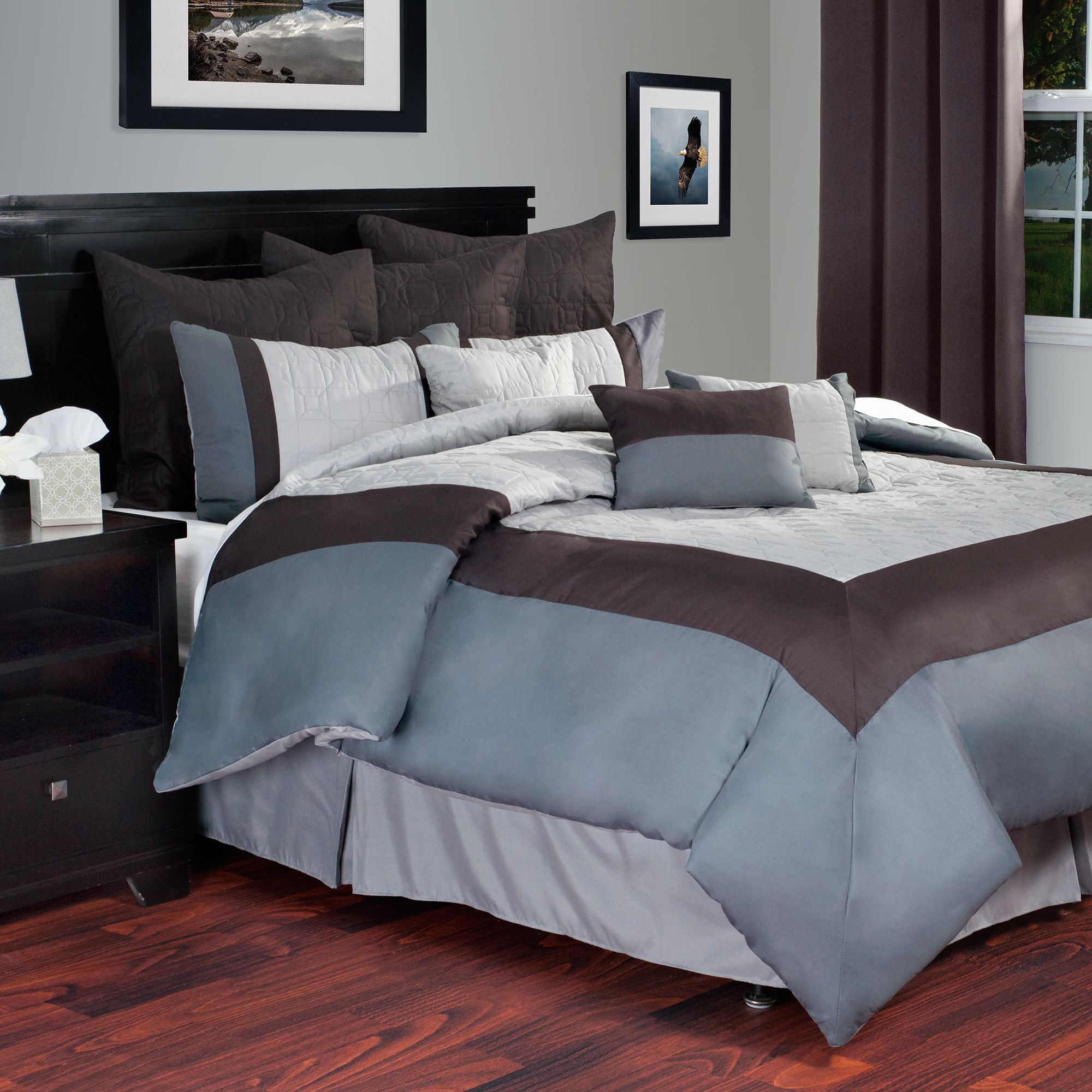 Overstock Com Online Shopping Bedding Furniture Electronics Jewelry Clothing More Lavish Home Comforter Sets Queen Comforter Sets