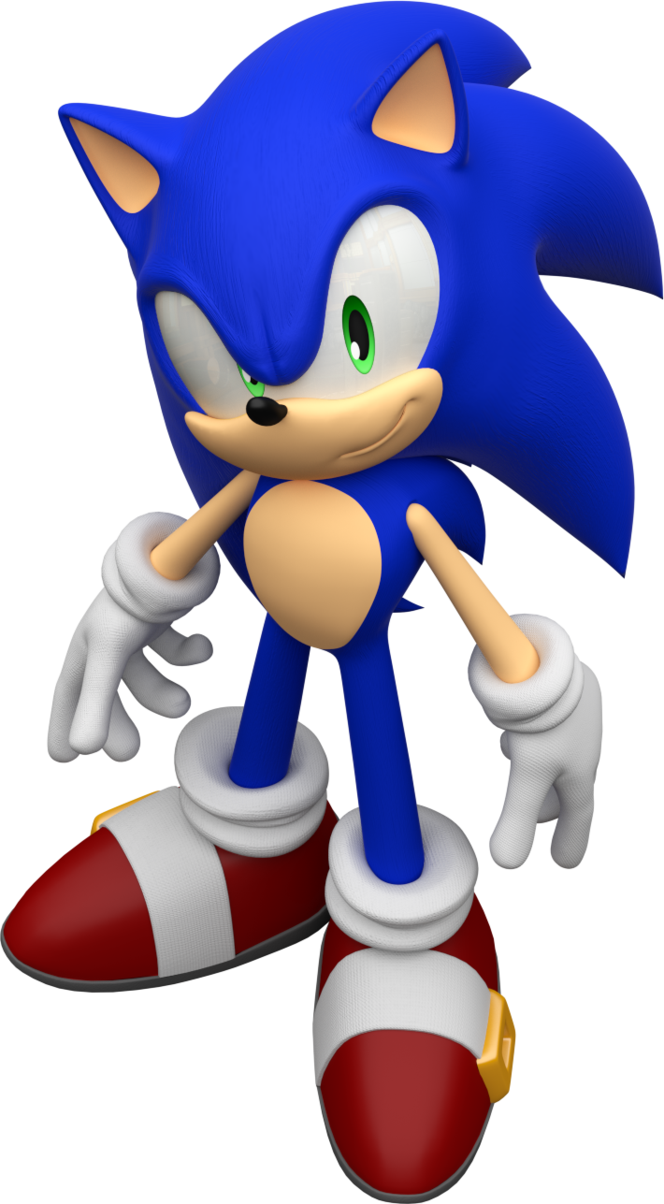 Ausmalbilder Pokemon Blitza : Sonic The Hedgehog Render By Mintenndo Sonic The Hedgehog