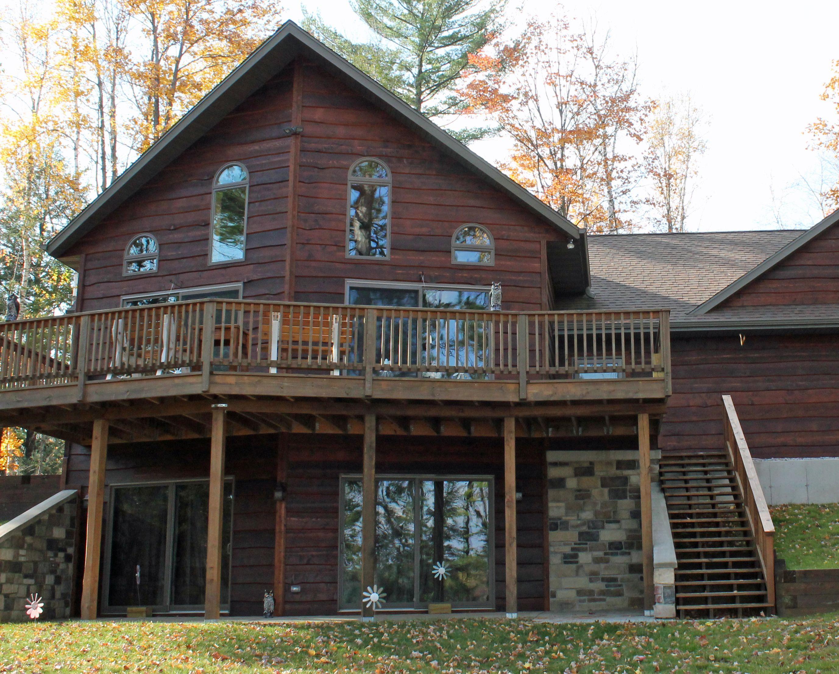 15 16 X12 Tight Knot Cedar Haida Skirl Sikkens L S 077 Cedar Big Beautiful Houses Wood Siding House Styles