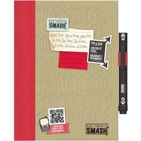 smash doodle red folio   20x26cm