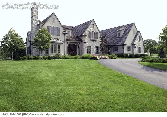 French country house exteriors exteriors french for Country home exteriors