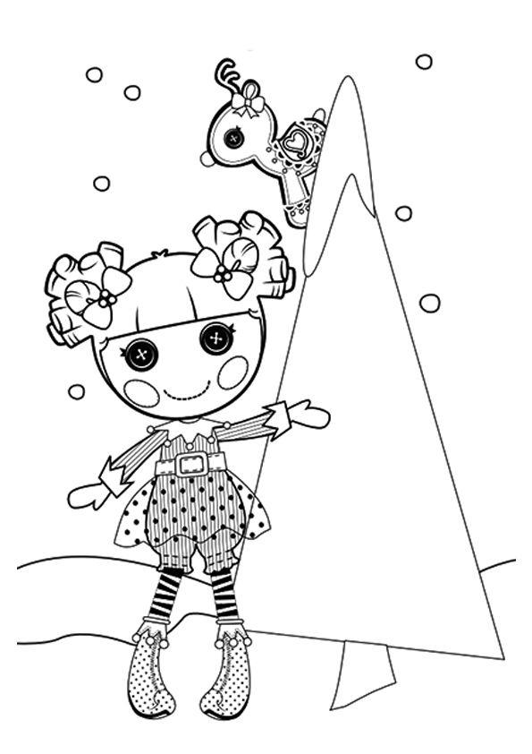 print coloring image | Lalaloopsy