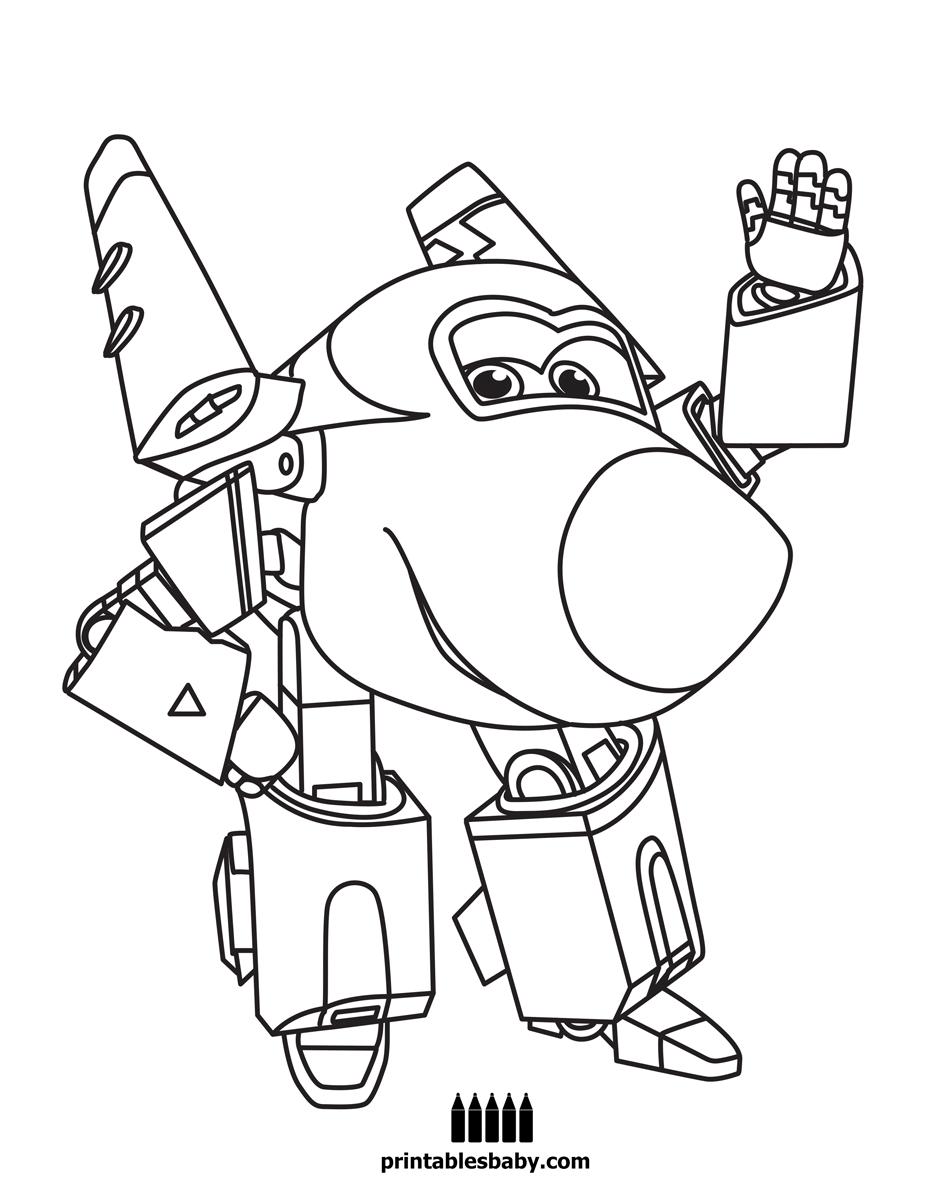 Feuerwehrmann Sam Ausmalbilder Geburtstag : Super Wings Printables Baby Free Cartoon Coloring Pages Kids