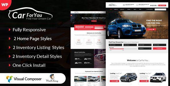 Download CarForYou v1.3 - Responsive Car Dealer WordPress Theme ...