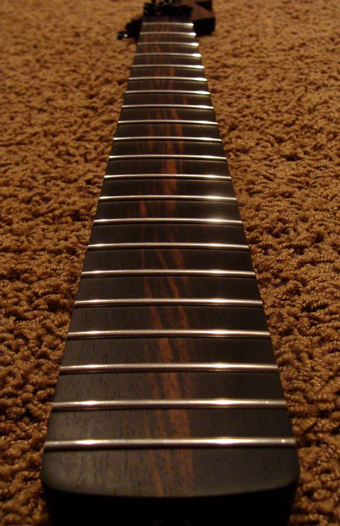 Macassar ebony guitar commit