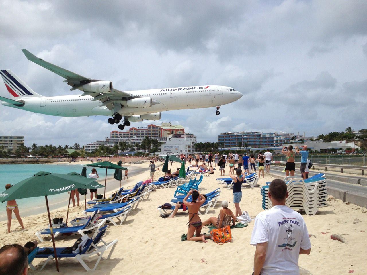 Maho Beach Sint Maarten Maho Beach St Maarten Sint Maarten Beach