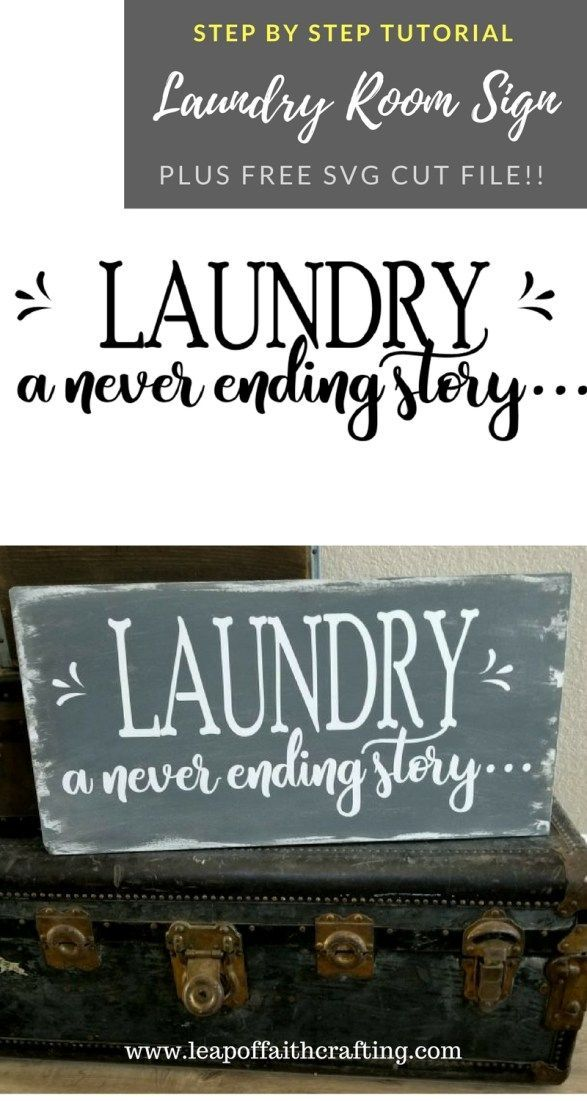 Diy Wood Signs Are So Easy To Make Pinterest Cricut And Laundry
