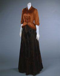 Elsa Schiaparelli evening dress and jacket spring 1948.