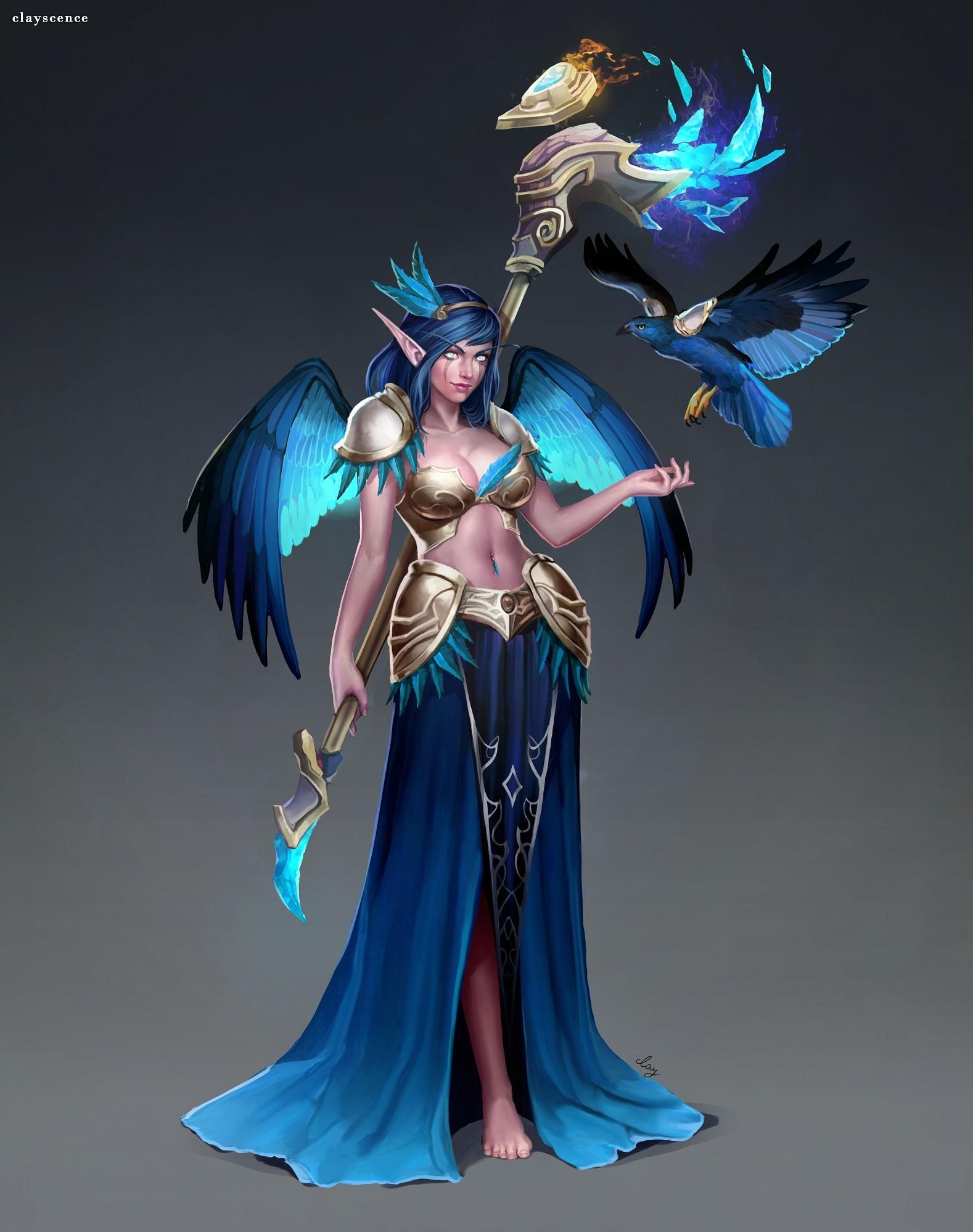 warcraft World night elves of