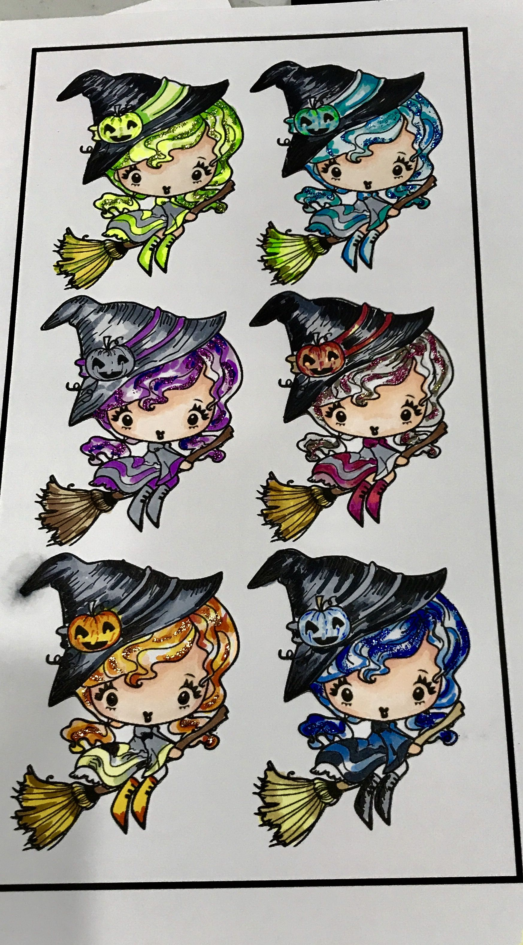 Halo Witch The Greeting Farm Greeting Farm Stamps Pinterest