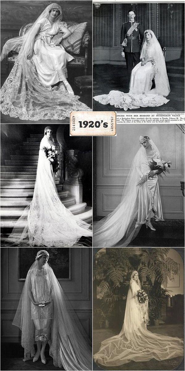 Los alegres años 20 y sus #vestidos de #novia