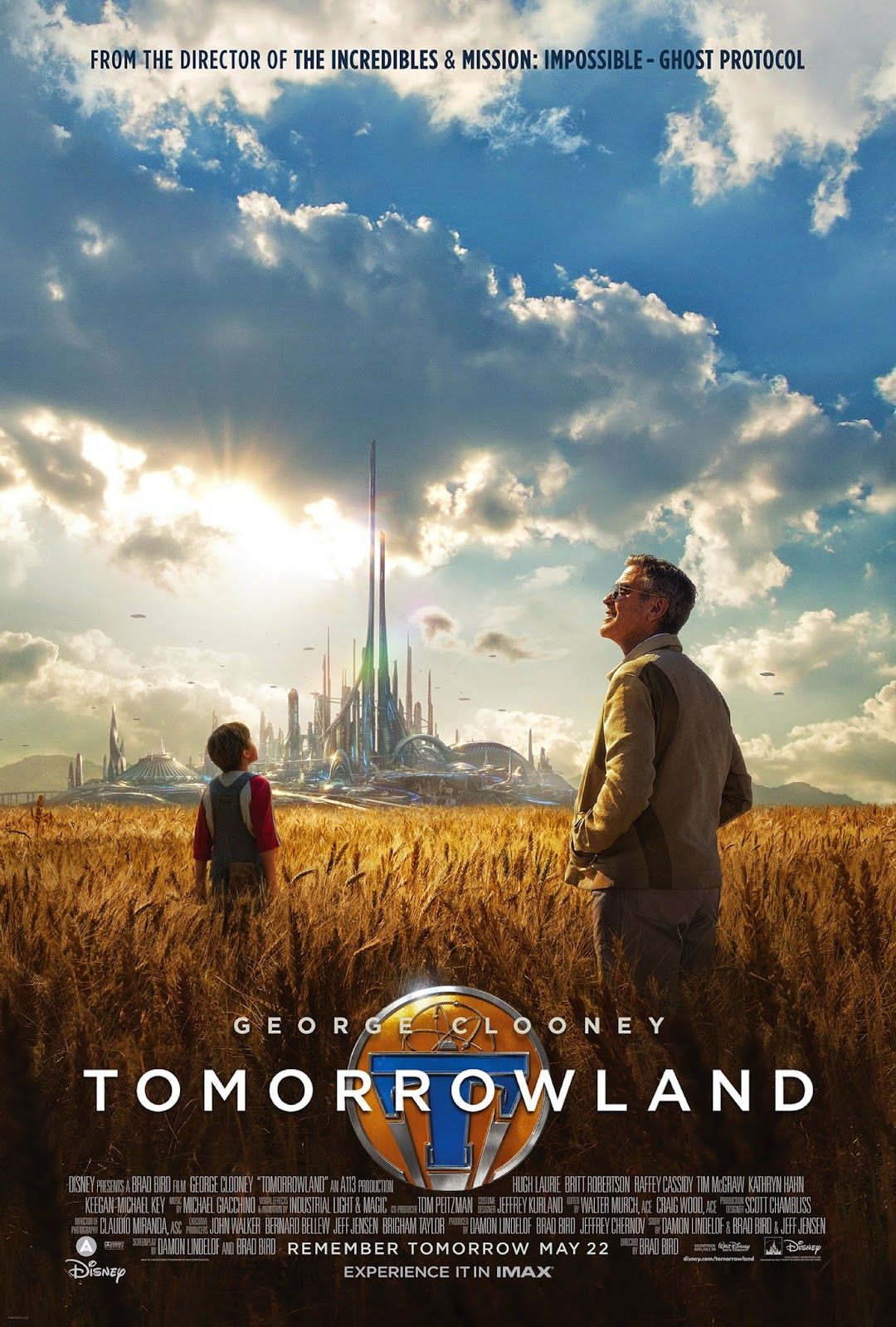 Yes No Films Movie Review Tomorrowland Posteres De Filmes