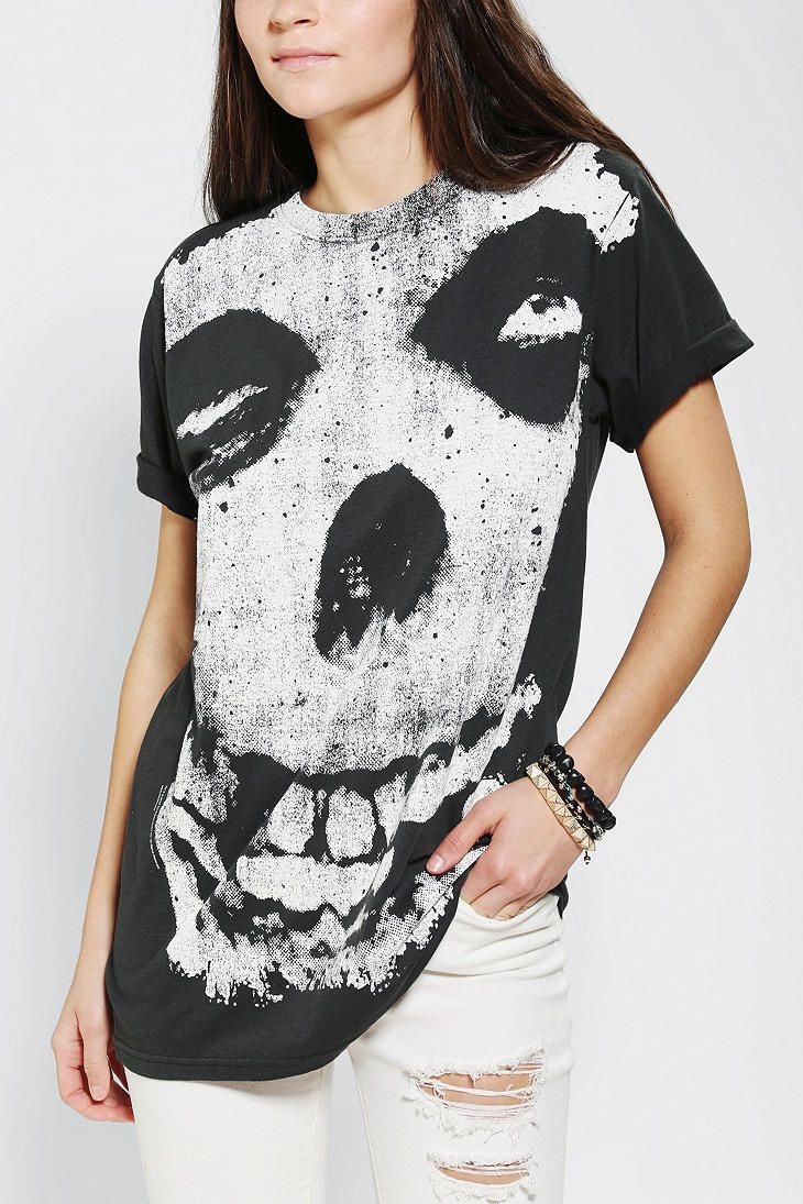 Misfits Full Face Tunic Top #urbanoutfitters