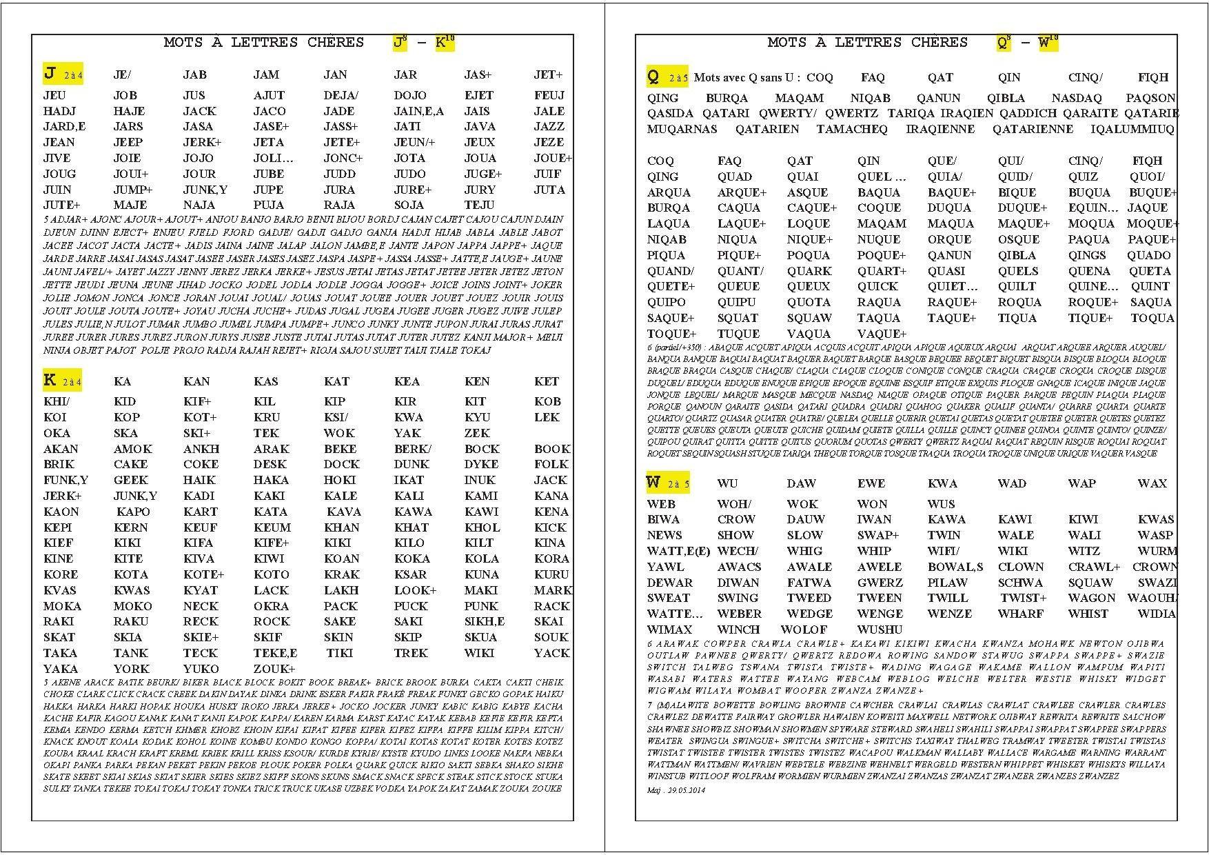 lettre w scrabble Résultat de recherche d'images pour