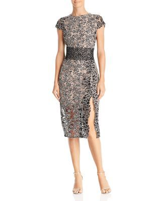 e03c6177b4d BRONX AND BANCO Mixed Lace Dress