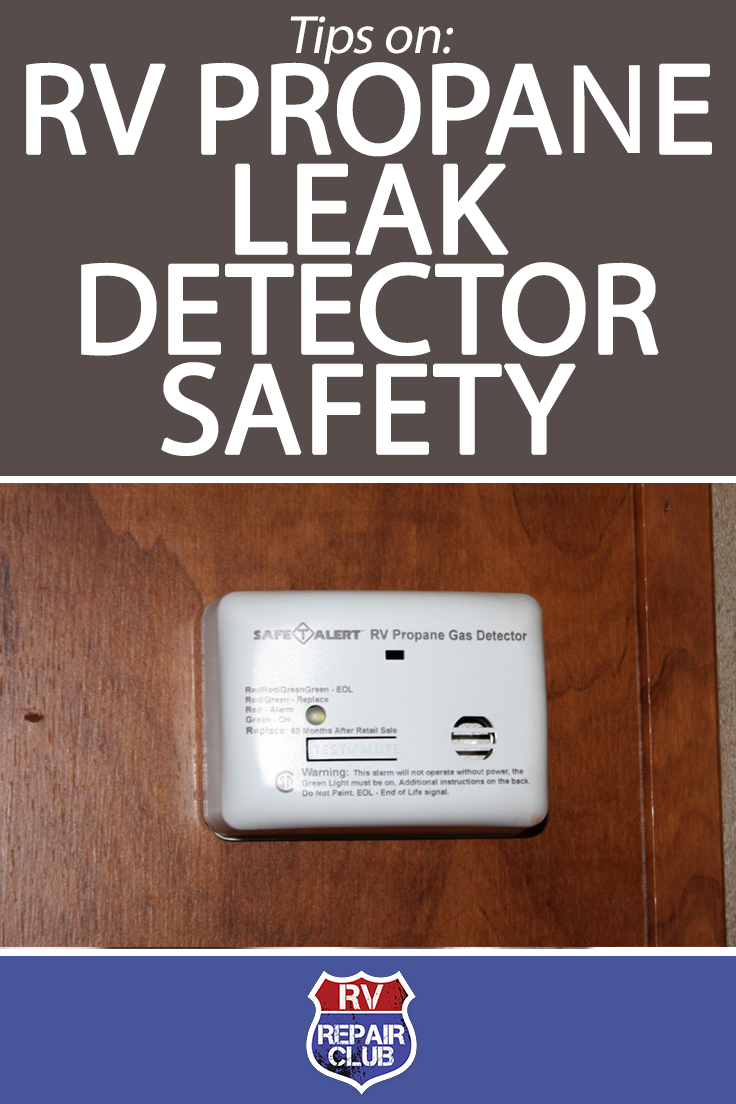 Tips on RV Propane Leak Detector Safety Bus life, Gas