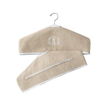 Typographer's Linen Hanger Slipcover #makeyourmark