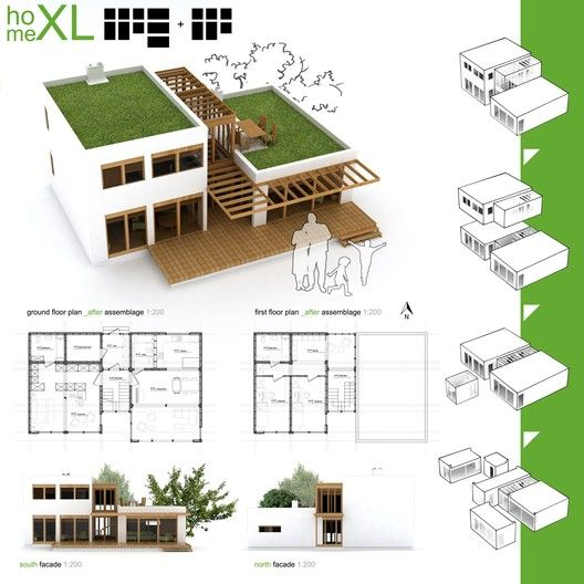 Gallery Of Winners Of Habitat For Humanity S Sustainable Home Design Competition 14 Sustainable Architecture Container Design House Blueprints