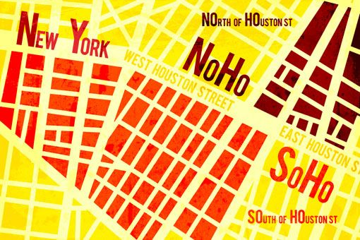 Noho Nyc Map.Noho After A Trip To Nyc Theo Inglis Created This Series Of