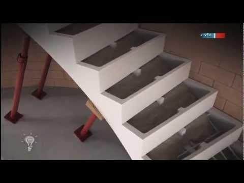 Treppe Betonieren diy treppe selber bauen beton diy treppe betonieren diy treppe