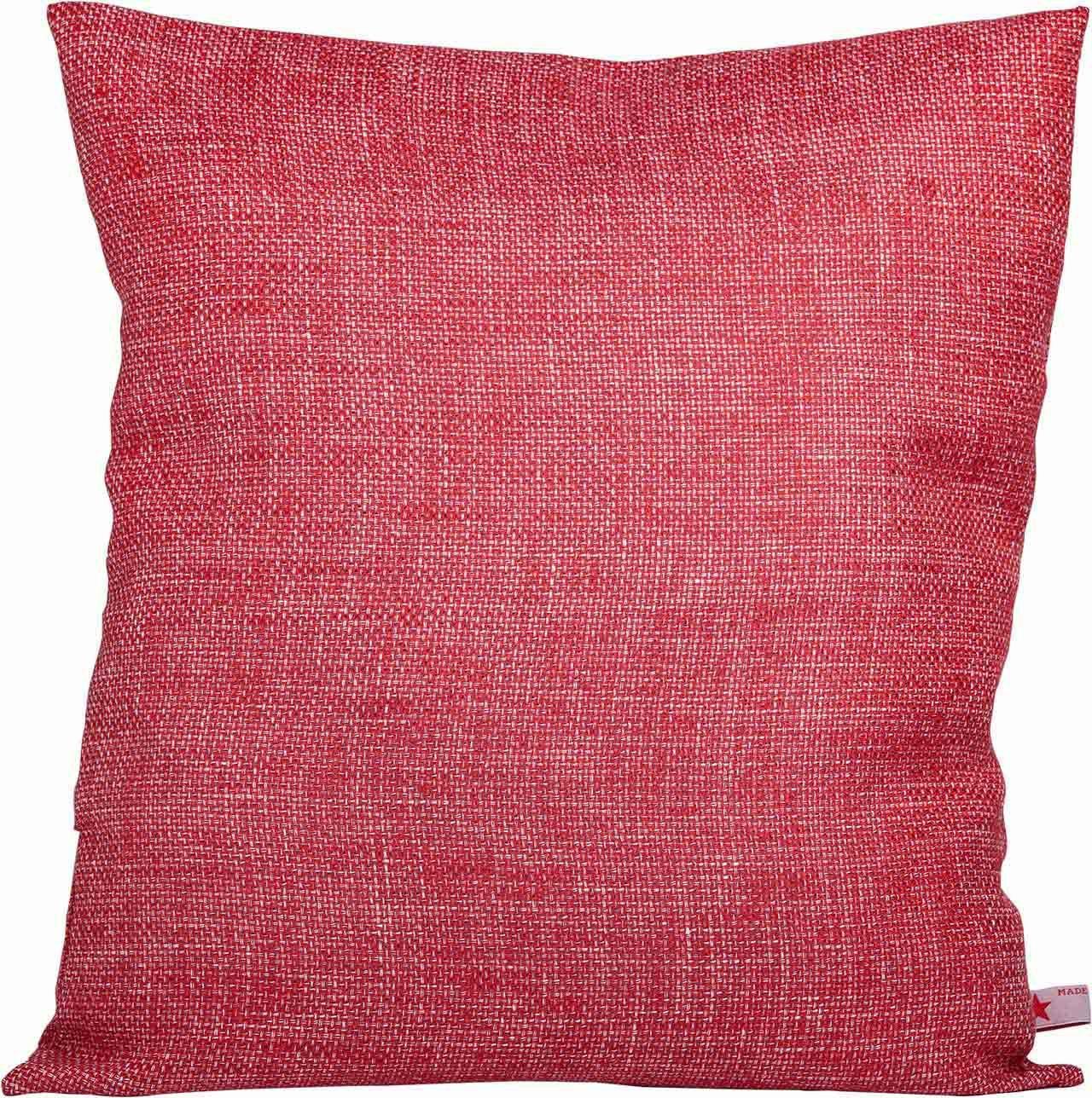 Kissen In Rot Weiss Frische Farben Fur Ihr Wohnzimmer Oder Auch Die Kuche Stoffart