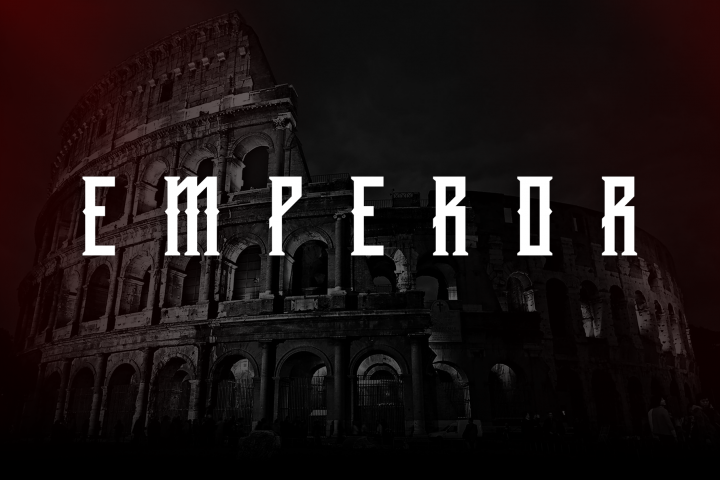 Download Download Emperor Display Typeface Fontbundles (With images ...