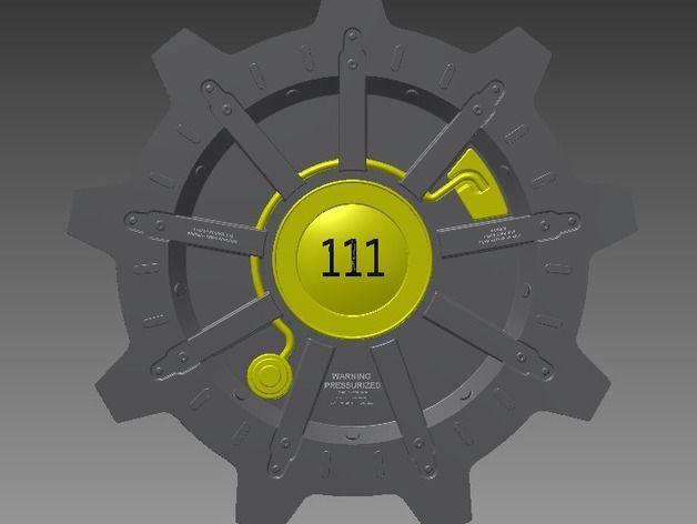 Fallout Vault Door fallout 4 vault door - google search | falout | pinterest | vault