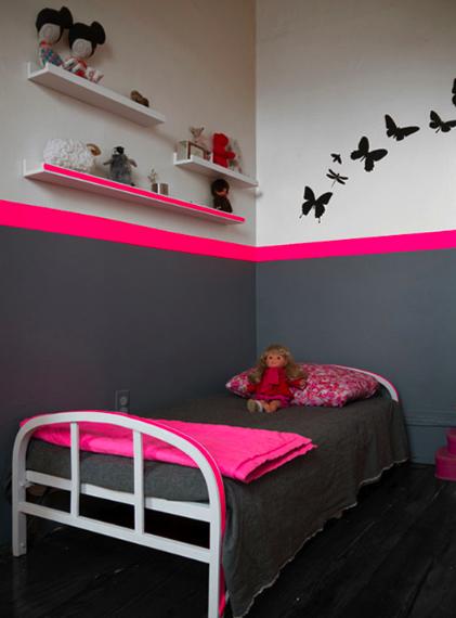 La Maison De Loulou Chambre Bebe Fille Rose Et Gris Decoration