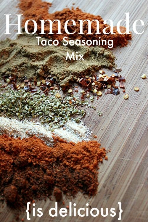 Homemade Taco Seasoning Mix Recipe | The Creek Line House