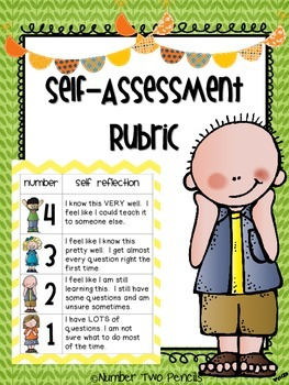 Marzano Scale Student Self Assessment Rubric Kids  Marzano And