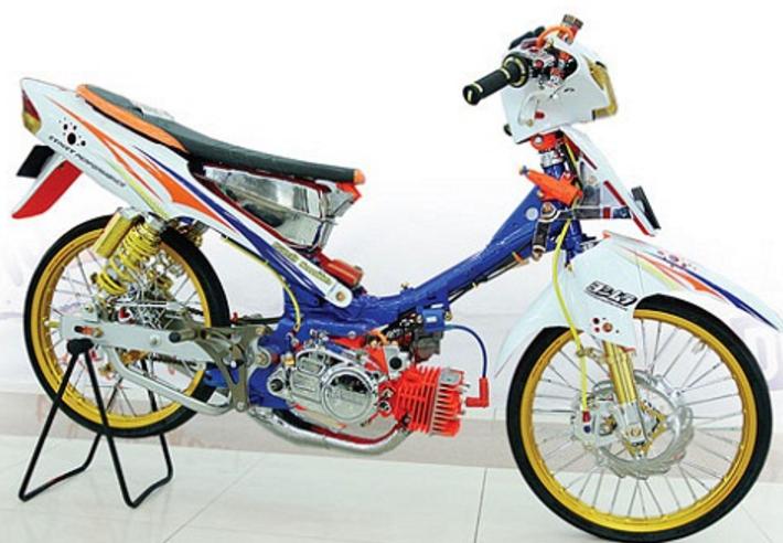 Modifikasi Motor Fiz R Kontes
