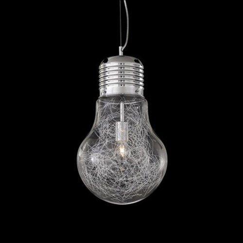 Lampada a sospensione Ideal Lux LUCE MAX SP1 BIG Colore Alluminio Ideal Lux http://www.amazon.it/dp/B00439Q7TC/ref=cm_sw_r_pi_dp_9opVub0Z1XNAQ