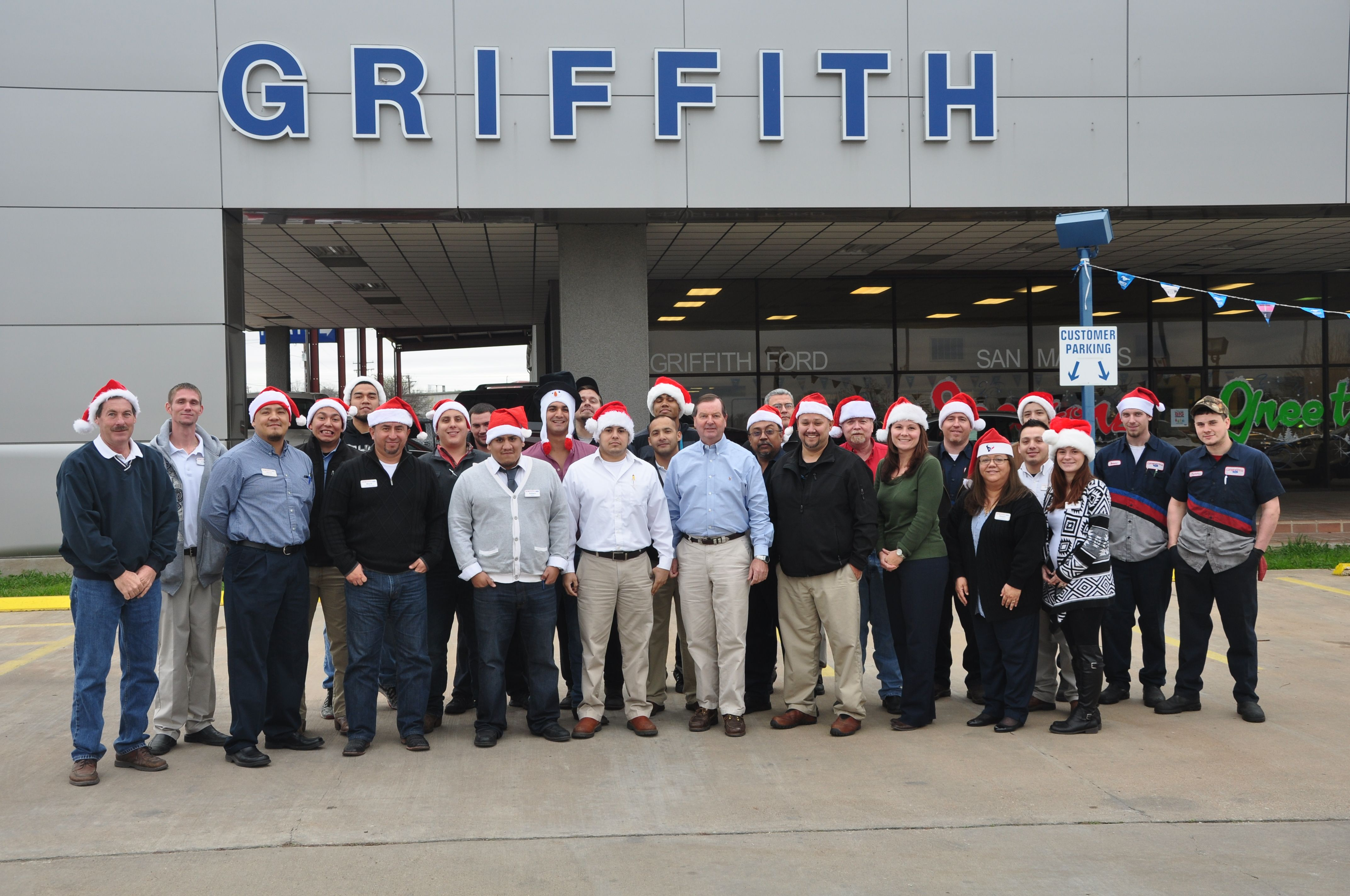 Ford San Marcos >> Merry Christmas From Griffith Ford San Marcos Holidays