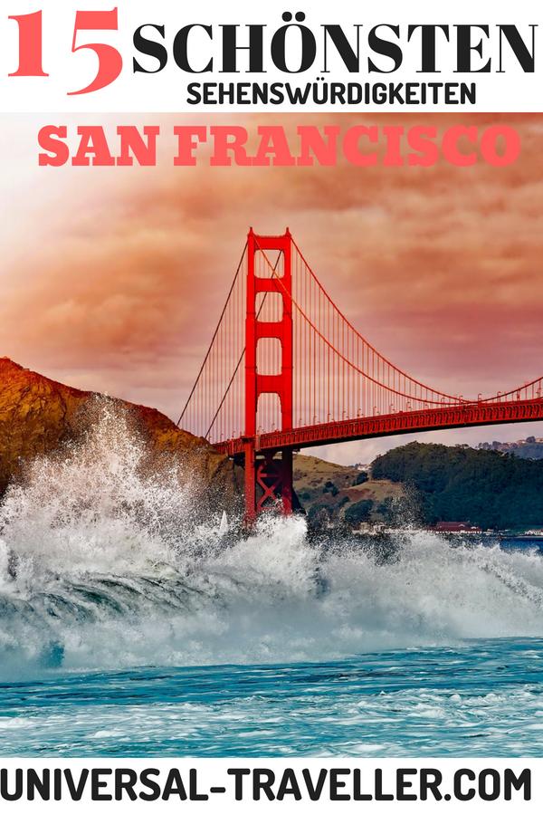 Die besten Sehenswürdigkeiten in San Francisco #traveltogreece