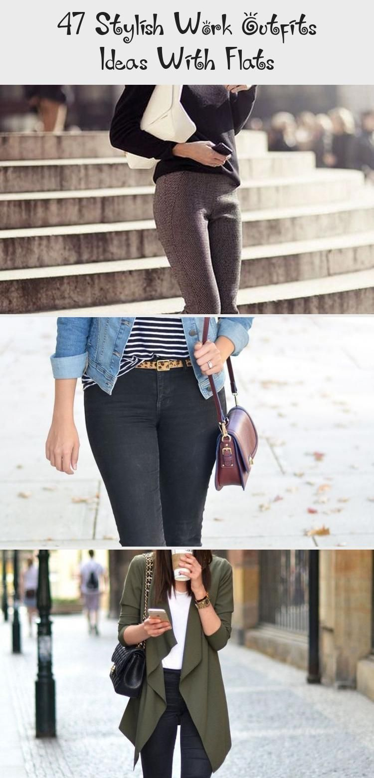 Awesome 47 Stylish Work Outfits Ideas With Flats Awesome 47 Stylish Work Outfits Ideas With Flats Awesome 47 Stylish Work Outfits Ideas With Flats