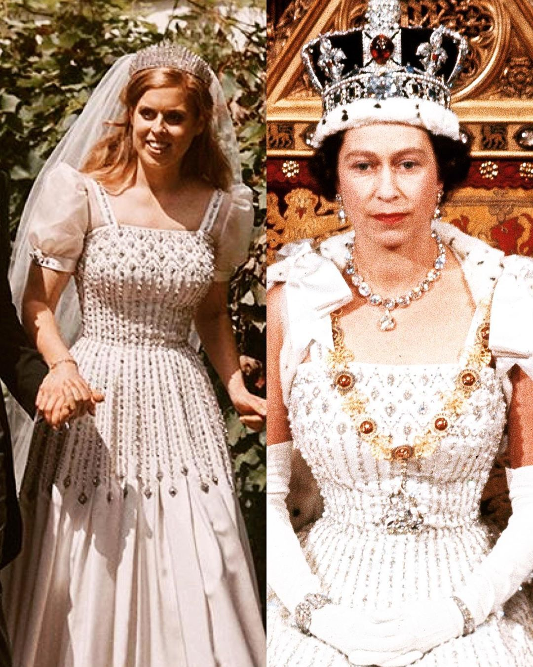 Windsor Royal Family S Instagram Post Princess Beatrice S Wedding Dress First Worn By Her Royal Wedding Gowns Princess Beatrice Wedding Royal Wedding Dress [ 1350 x 1080 Pixel ]