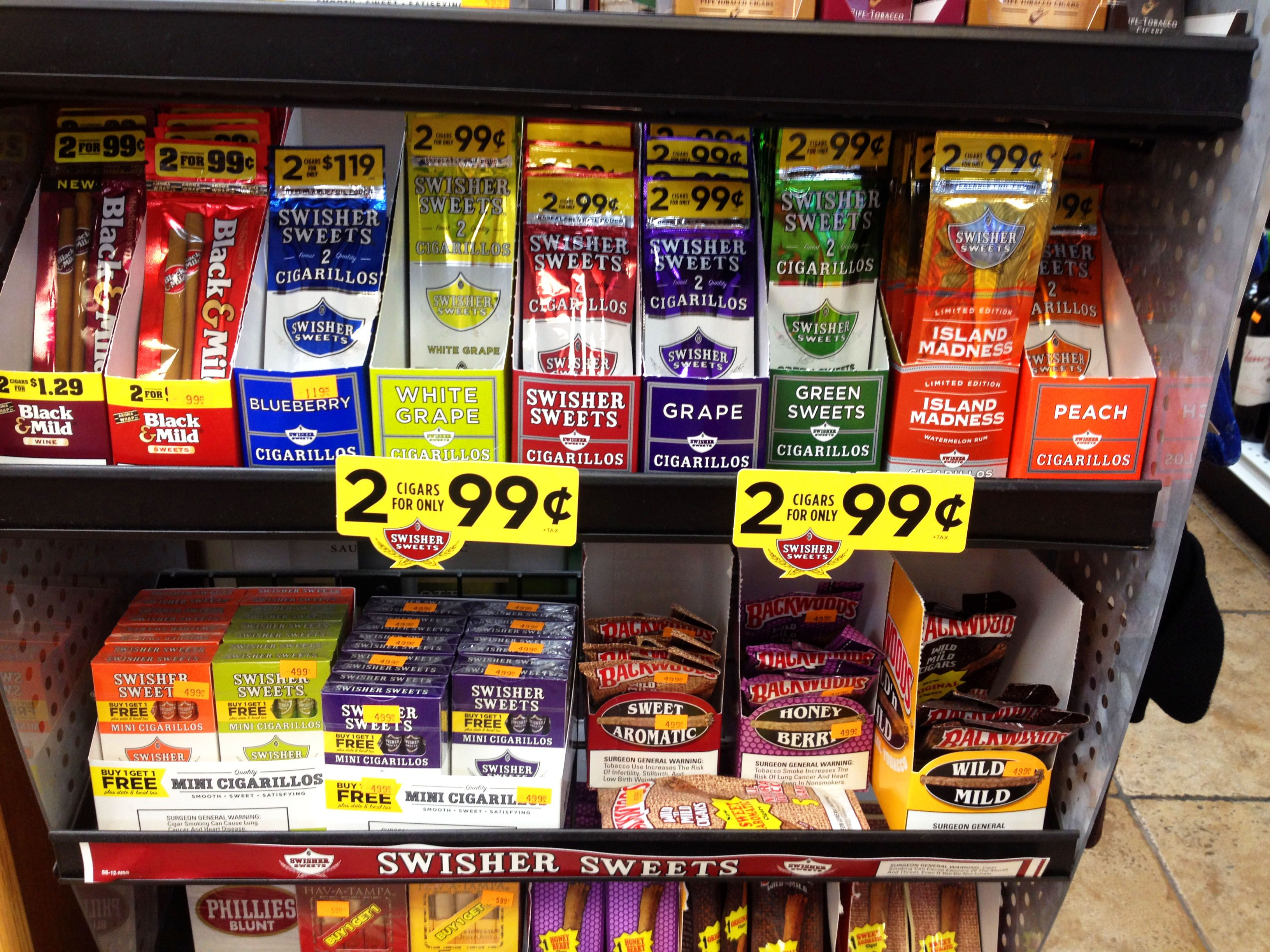 Swishersweets Swishersmokes Store Display Swisher