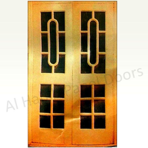 Pakistani Kail Wire Mesh Double Door Hpd513 - Mesh Panel Doors - Al Habib Panel Doors