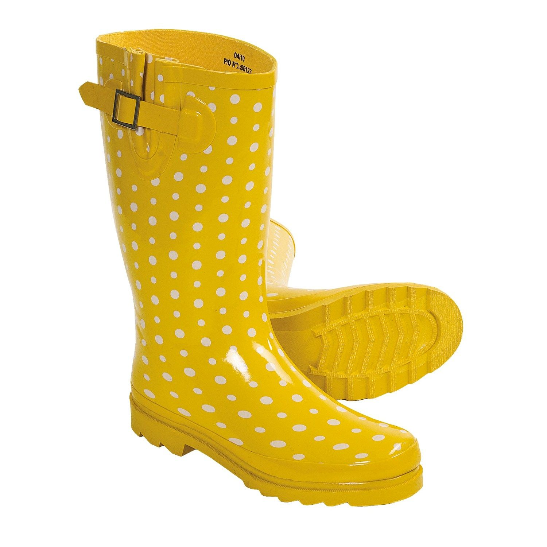 Yellow Rain Boots Women - Boot Hto