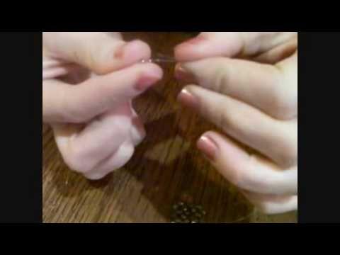 Tutorial anello quadrato swarovski-Parte 2/4