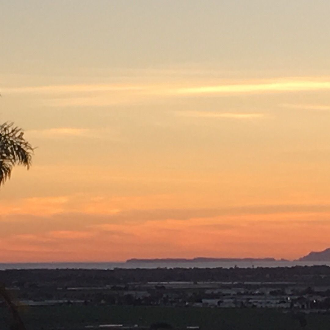 View From A Camarillo Home We Showed You Can See The Islands From Here