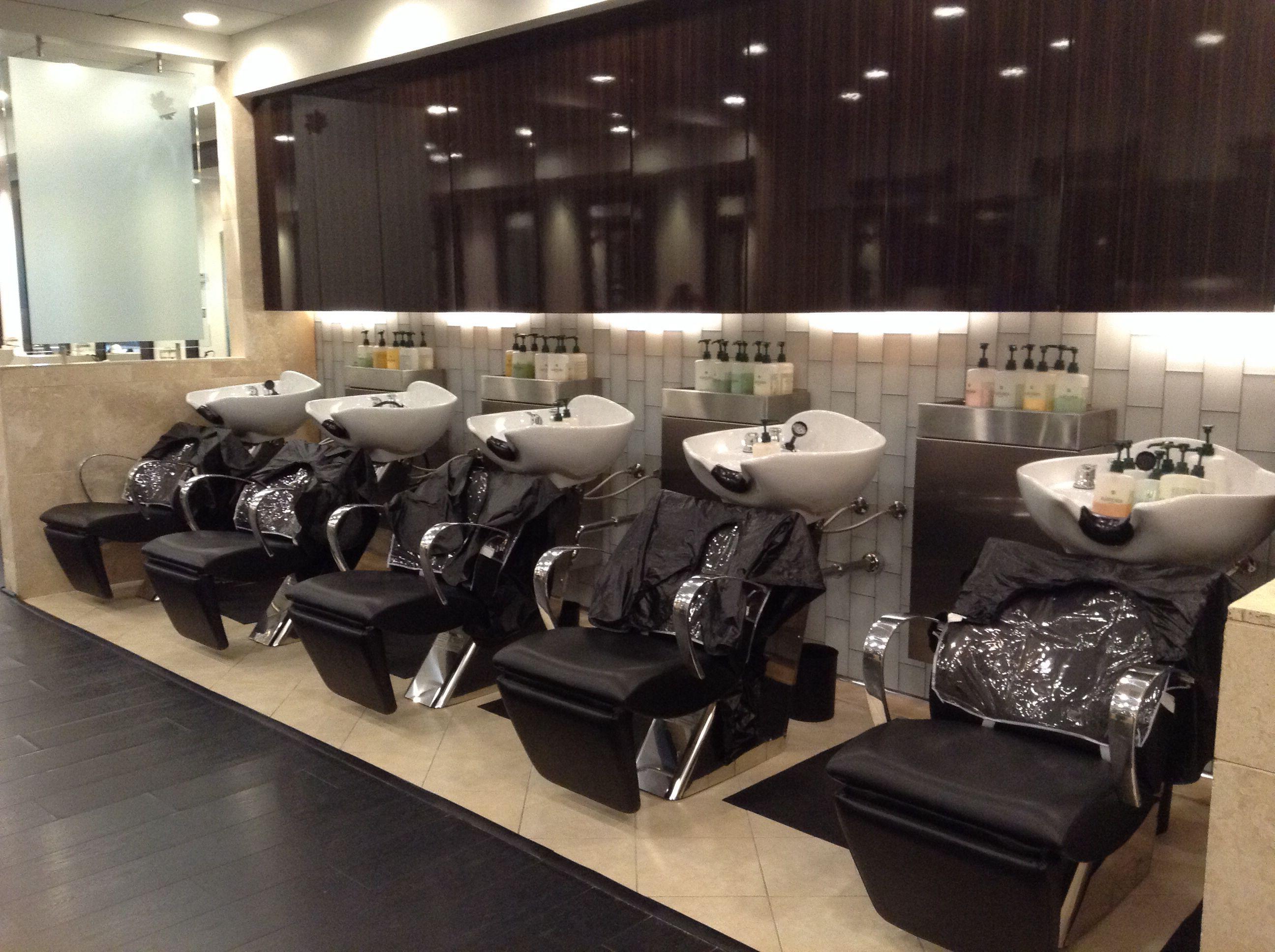 Beautiful New Shampoo Area Salon Shampoo Salon Furniture Modern Salon