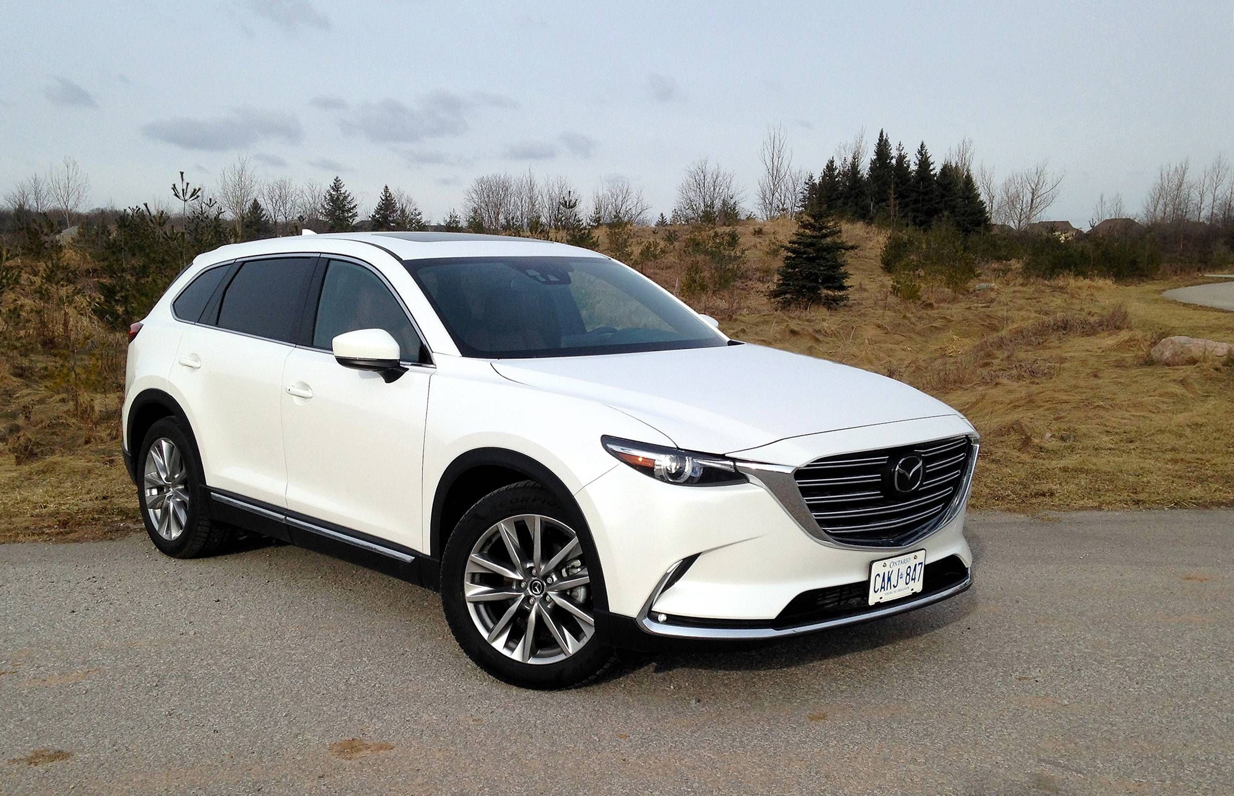 Suv Review 2017 Mazda Cx 9 Credit Peter Bleakney