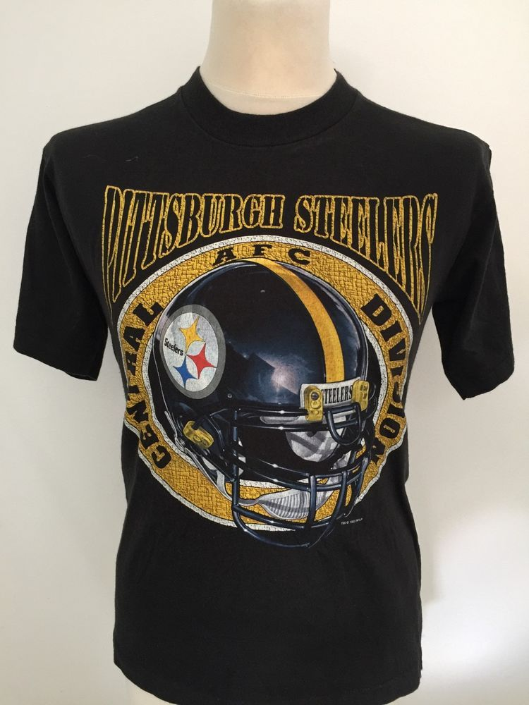 d005302f3 Vintage 90  s PITTSBURGH STEELERS NFL T Shirt Size SMALL ...