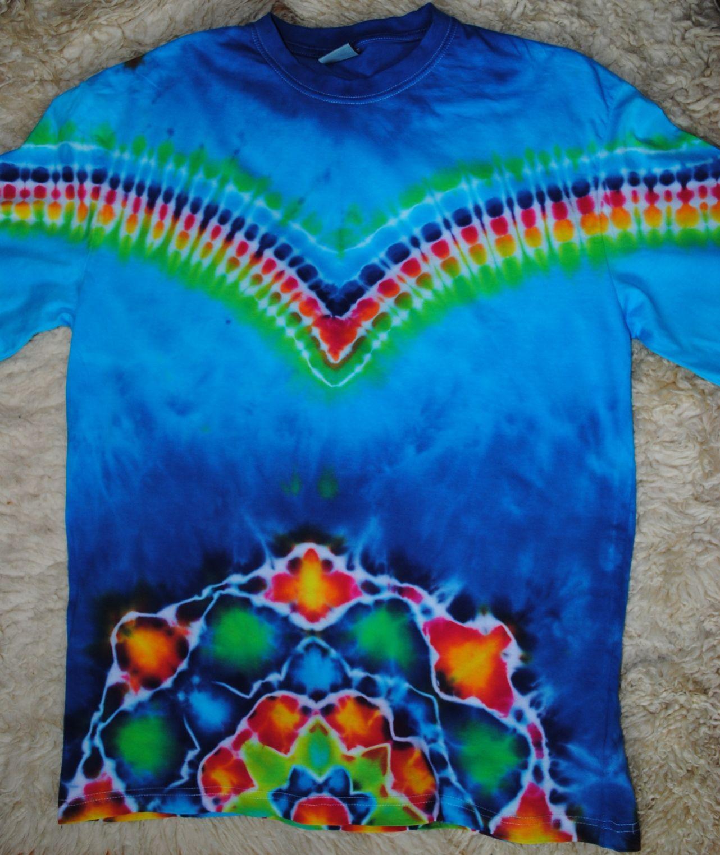 2706f1adbe0 Originální pánské batikované tričko.