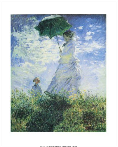 Parasol by Claude Monet. Vintage Art Print Poster (16 x 2... https://www.amazon.com/dp/B00HWFZT8E/ref=cm_sw_r_pi_dp_x_Ip5dybBCD2SHJ