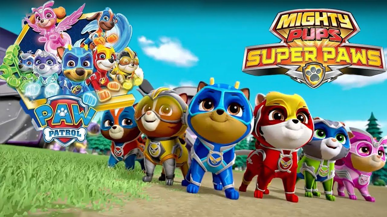 Paw Patrol Mighty Pups Super Pups Mystery Monster Noise Full Episode 1 Youtube Paw Patrol Paw Patrol Cartoon Paw Patrol Party