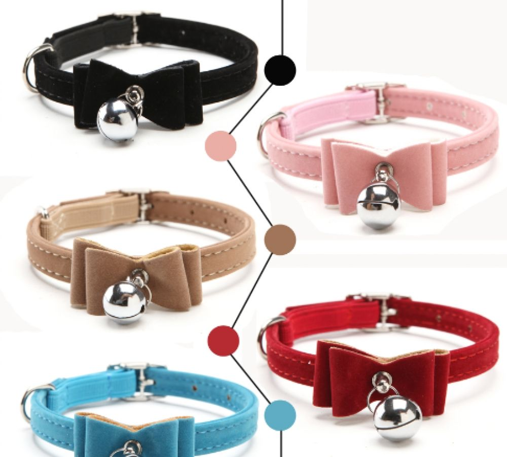 Cat Collars Elastic With Bell Price 9 95 Free Shipping Hashtag3 In 2020 Cat Bowtie Collar Cat Collars Cat Accessories